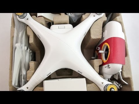 DJI Phantom 2 Vision Unboxing