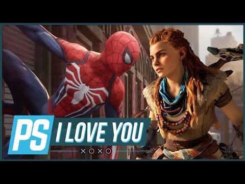 Horizon Zero Dawn vs. Spider-Man – PS I Love You XOXO Ep. 54
