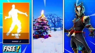 Mise à JOUR Fortnite! Saison 7 SNOW STORM MAP! Taro Skin RELEASE DATE! Tfue found NEW GLITCH - EMOTE GRATUIT