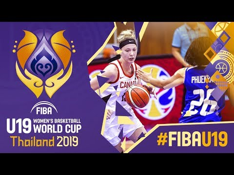 Canada v Thailand - Full Game - FIBA U19 Women's Basketball World Cup 2019