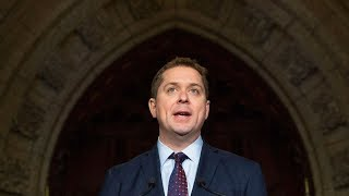 "Andrew Scheer adresses Trudeau's ""Year of failure"""