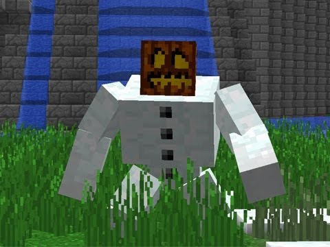 Minecraft mutant snow golems mod episode 836 youtube - Minecraft golem de diamant ...