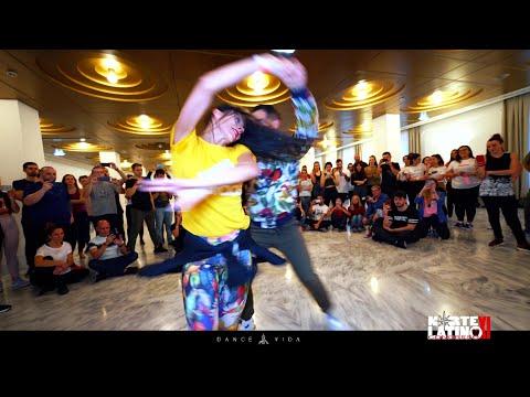 Fabian And Fania Salsa Workshop At Norte Latino By Dance Vida.