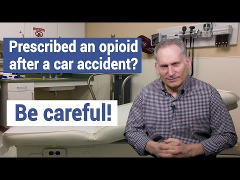 Opioid Addiction After an Auto Accident