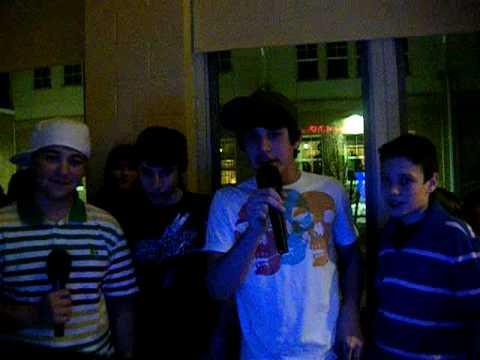 8th grade karaoke dance