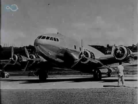 Boeing 307 Stratoliner flight testing by Howard Hughes