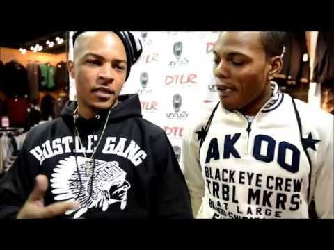 AMazOn & TI Interview For His AKOO Clothing Line & Trouble Man Album
