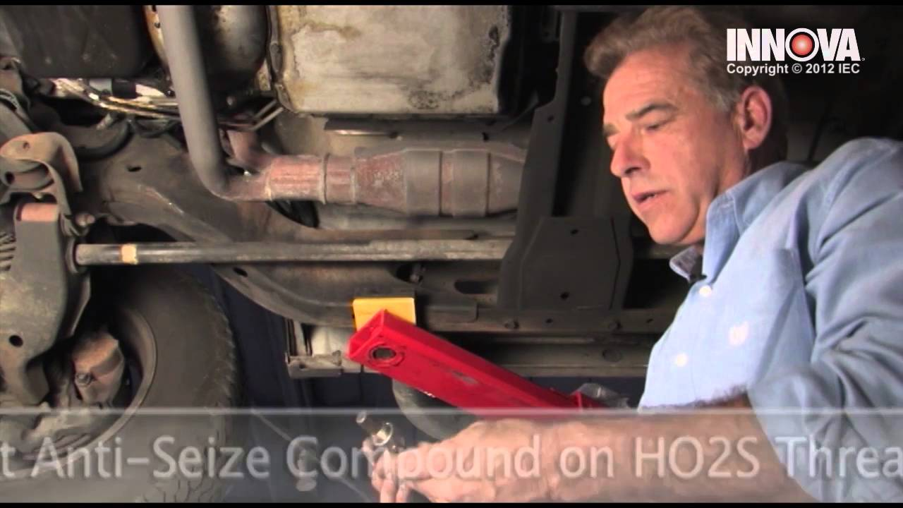 How To Change Oxygen Sensor