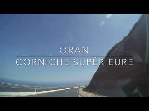 Corniche supérieure Oran, Marsa (Mers) El-Kebir, Aïn El Turck. Septembre 2016 - HD