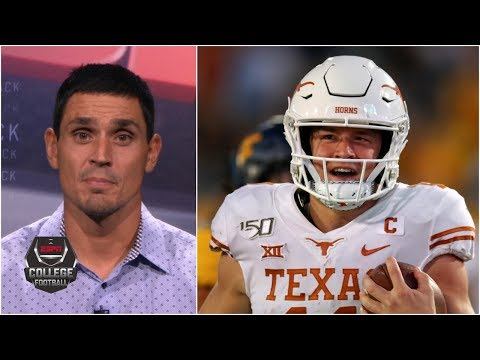 Oklahoma should be concerned about Texas' Sam Ehlinger – David Pollack | College Football Live