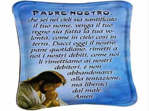 Va bene ripetere la preghiera del padre nostro fratello - Stampabile la preghiera del signore ...