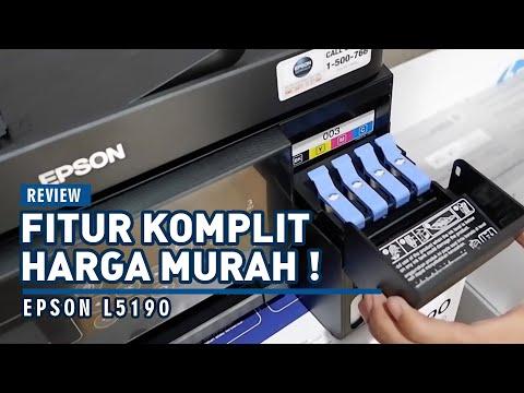 REVIEW EPSON L5190 Printer Sempurna Semua Fitur Ada, Harga Murah di Kelasnya !!   MANXI GROUP