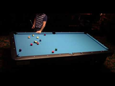 Straight pool 99 balls run