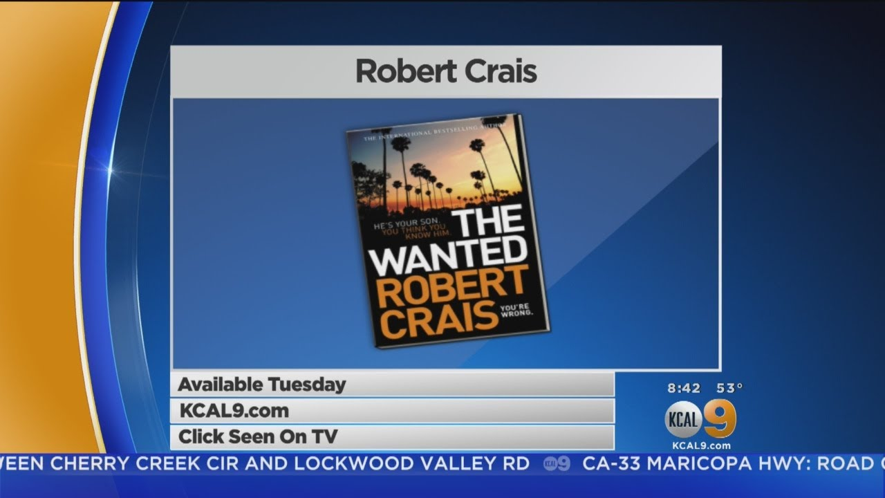 Author Robert Crais Shares Details About New Book \'The Wanted\' - YouTube