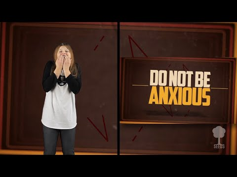 Do Not Be Anxious (Philippians 4:6-7) Hand Motions Video
