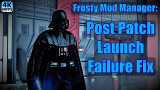 Frosty mod manager not launching game
