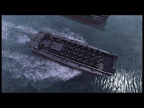 Canadian Beach Assault - Landing on Juno Beach | Men of War Assault Squad 2 Mod Gameplay