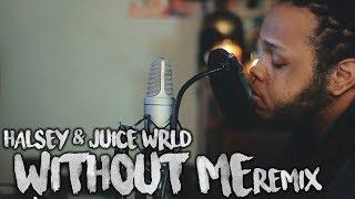 Halsey Juice Wrld Without Me Remix Kid Travis Cover.mp3