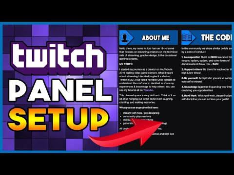 How To Customize Your Twitch Channel | For Beginners (In-Depth)