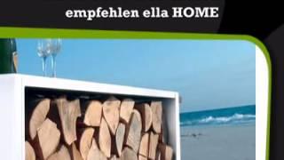 Kaminholzwagen Beistelltisch Radius Design - Ella-home.de