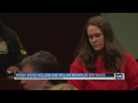 Holland and Brownlee sentenced in Baldwin County courthouse