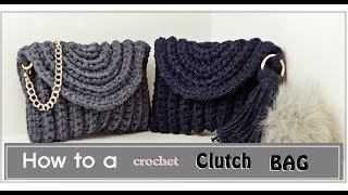 (코바늘 클러치 뜨기)how to a crochet C…