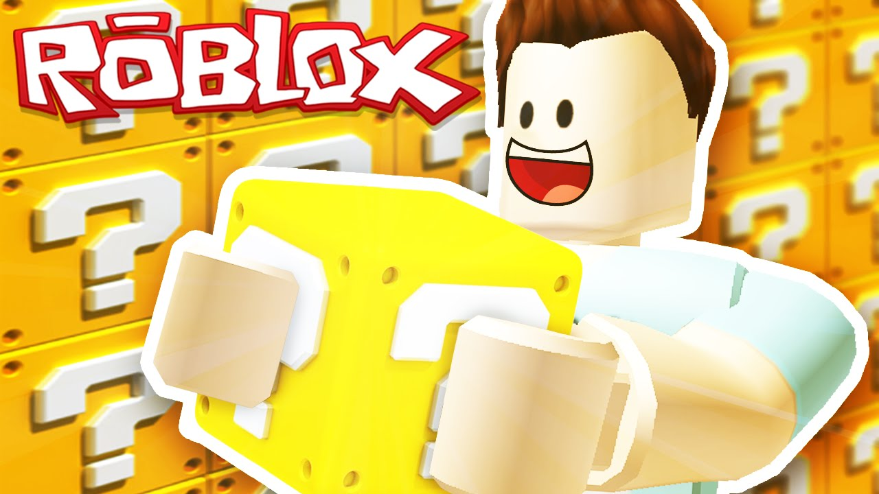 Fgteev Lucky Block Roblox Lucky Blocks In Roblox Youtube