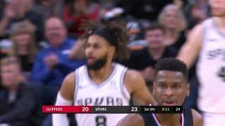 1st Quarter, One Box Video: San Antonio Spurs vs. Los Angeles Clippers