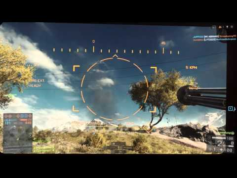 Battlefield 4 AA passive radar fun