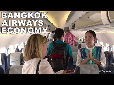 TRIP REPORT - Bangkok Airways Economy Class flight from Bangkok to Koh Samui - HS-PGN