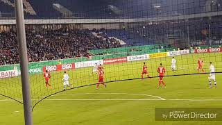 MSV gegen Paderborn DFB-Pokal