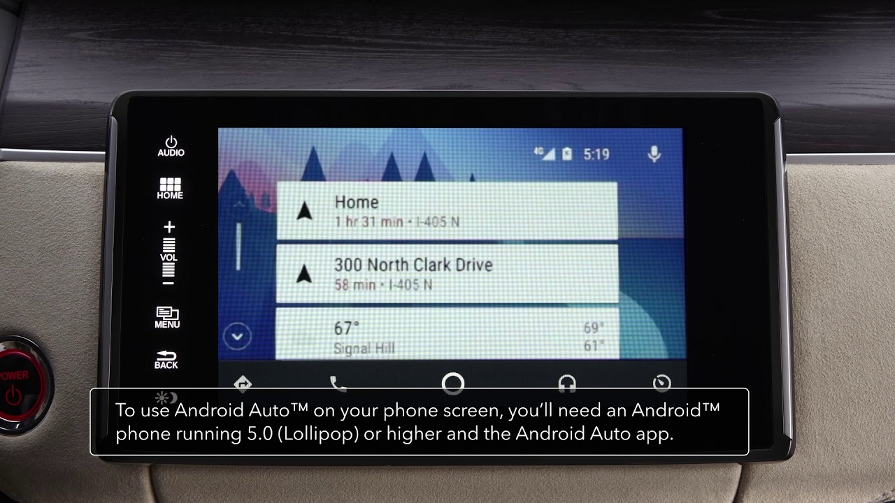 How To Connect Use Android Auto Honda