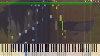 "Naruto - Opening 5 ""Seishun Kyousoukyoku"" - Synthesia Piano HD"