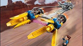 Lego 75258 Anakin's Podracer Review обзор на русском