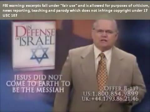 FALSE TEACHER JOHN HAGEE EXPOSED!! (evil Televangelist preachers)