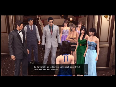 Yakuza Kiwami 2 - Cabaret Club GP V.S Millionaire League  & Yuki -Chan Joined!!!