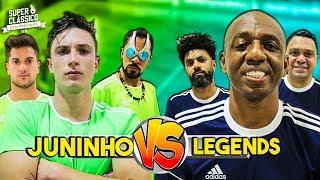 Pedreira pro time do Juninho no Superclássico Desimpedidos!
