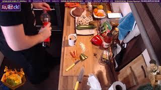 Gotuję GULASZ OGNISTY z Gothica - Gotowanie na żywo / 06.02.2019 (#4)