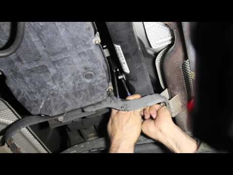1997 to 2003 Mercedes Transmission Shift Lever Bushing Replacement - ML320 Example Shown