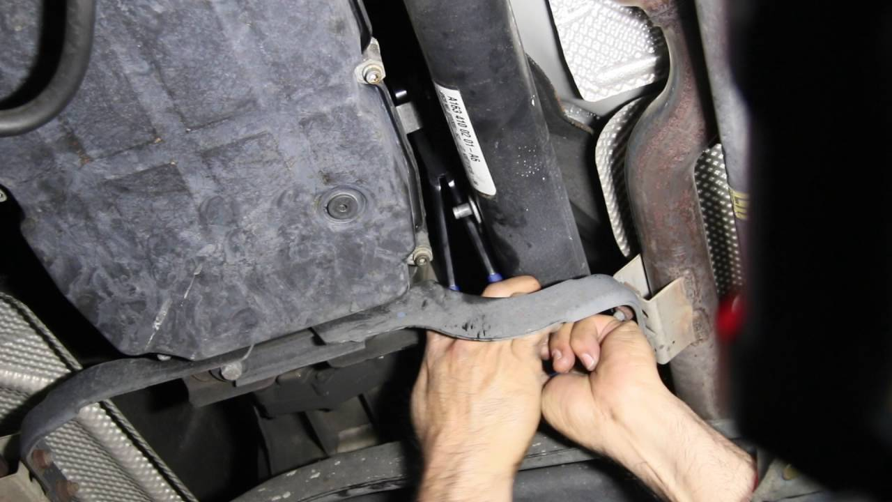 medium resolution of 1997 to 2003 mercedes transmission shift lever bushing replacement ml320 example shown youtube