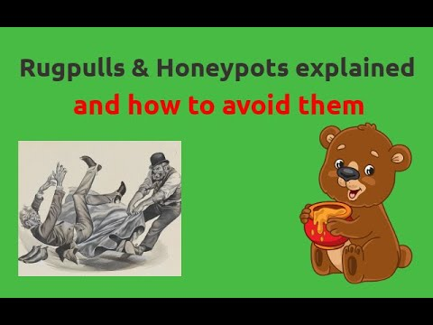 RugPulls & Honeypots Explained and How to Avoid Them