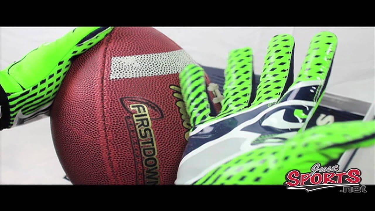 Nike Vapor Jet 2.0 NFL Gloves - YouTube 07ad72d3b756