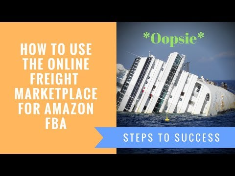 How to use the online Freight Marketplace for Amazon FBA Tutorial   Private Label