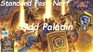 Hearthstone: Odd Paladin #4: Boomsday (Projeto Cabum) - Standard Constructed Post Nerf