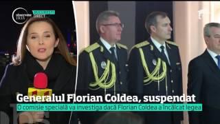 Adjunctul SRI, generalul Florian Coldea, a fost suspendat!