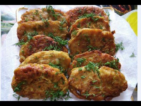Котлеты из кабачков. Очень вкусно! ☆ Удачный рецепт Как приготовить овощные кабачковые котлеты