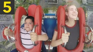 5 Funny Slingshot Ride Moments