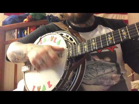 We Wish You a Merry Christmas, clawhammer banjo
