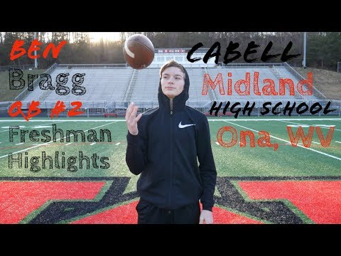 Ben Bragg Freshman Football Highlights - Cabell Midland High School (Ona,WV)