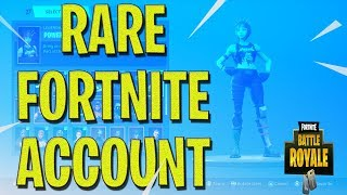So I'm Selling My *RARE* Fortnite Account (CHEAP)